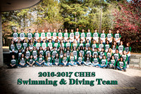 2016-2017 CHHS Swimming & Diving Team